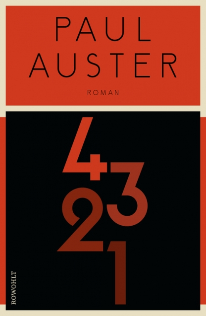 Auster _ 4321 - Cover