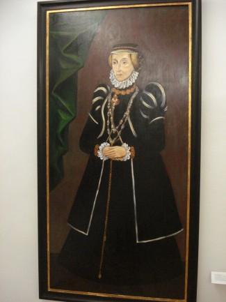 Anna Neumann, 1535-1623 Porträt Museum Villach, Kopie Walter Pobaschnig