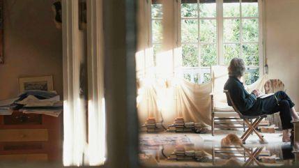 *** Local Caption *** Peter Handke - Bin im Wald. Kann sein, dass ich mich verspäte… (OmeU), Peter Handke – In the Woods, Might Be Late, Corinna Belz, D, 2016, V'16, Dokumentarfilme