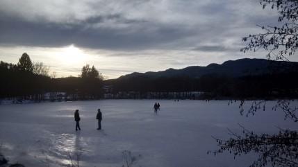 Flatschach 1_18 Eislaufen