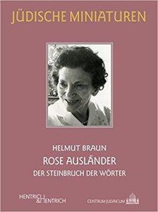 Cover_Rose Ausländer, vom Steinbruch der Worte
