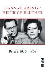 Hannah Arendt_Heinrich Blücher _ Cover