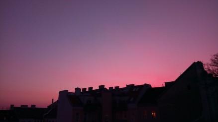 Motiv_Abendrot_Stadt Walter Pobaschnig
